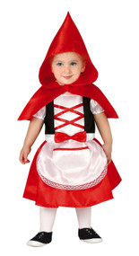 Baby Girls Red Riding Hood Fancy Dress Costume 2