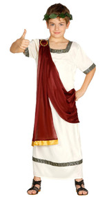 Boys Traditional Roman Fancy Dress Costume