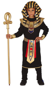 Boys Dark Egyptian Fancy Dress Costume