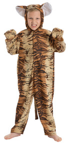 Childs Wild Tiger Fancy Dress Costume