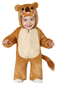 Baby Girls Cute Lion Fancy Dress Costume