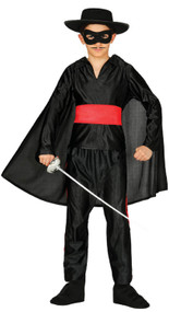 Boys Spanish Bandit Fancy Dress Costume