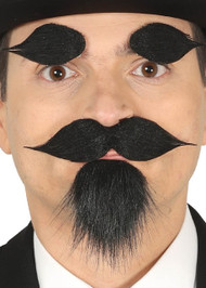 Mens False Facial Hair Accessory Set