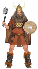 Mens Historical Viking Fancy Dress Costume