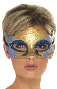 Ladies Glittery Venetian Eye Mask