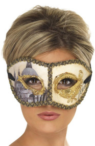 Ladies Venetian Venice Eye Mask