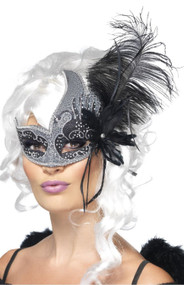 Ladies Dark Angel Masquerade Mask