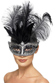 Ladies Venetian Colombina Eye Mask