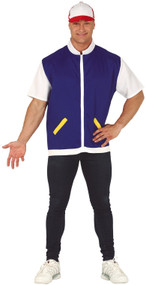 Mens Game Trainer Fancy Dress Costume