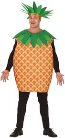 Adults Tropical Pineapple Fancy Dress Costume