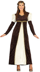 Ladies Historical  Princess Fancy Dress Costume