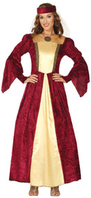 Ladies Renaissance Fancy Dress Costume