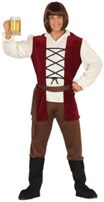 Mens Historical Innkeeper Fancy Dress Costume