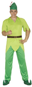 Mens Lost Boy Fancy Dress Costume