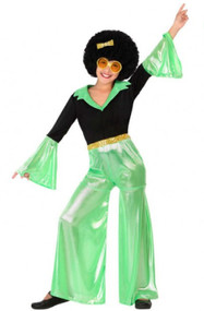 Child's 1970s Disco Fancy Dress Costume