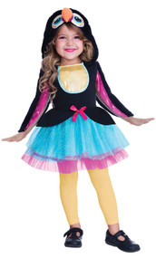 Girls Toucan Cutie Fancy Dress Costume
