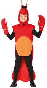 Child's Crayfish Fancy Dress Costume