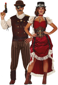 Couples Steampunk Fancy Dress Costumes