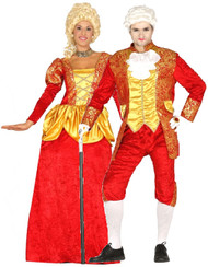 Couples Renaissance Fancy Dress Costumes