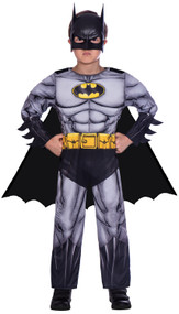 Boys Classic Batman Fancy Dress Costume