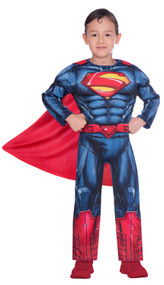 Boys Classic Superman Fancy Dress Costume