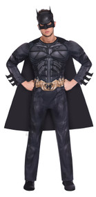 Mens Dark Knight Batman Fancy Dress Costume