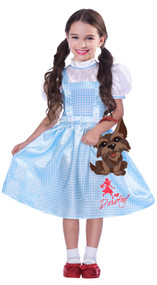 Girls Classic Dorothy Fancy Dress Costume