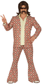 Mens Vintage 70s Fancy Dress Costume