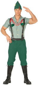 Mens French Army Officer Fancy Dress Costume