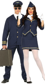 Couples Airline Fancy Dress Costumes