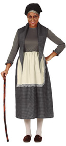 Ladies Granny Fancy Dress Costume