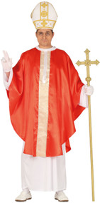 Mens Traditional Pope Fancy Dress Costume