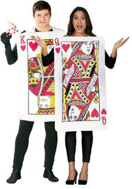 Couples Playing Cards Fancy Dress Costumes