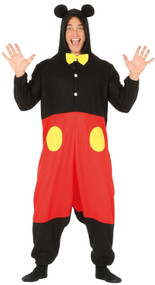 Mens Cartoon Mouse Fancy Dress Costume