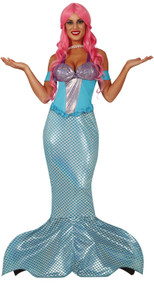 Ladies Mythical Mermaid Fancy Dress Costume