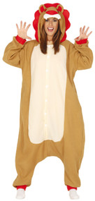 Adults Wild Lion Fancy Dress Costume