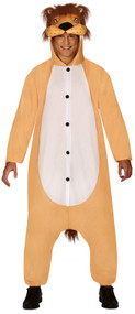 Adults Jungle Lion Fancy Dress Costume