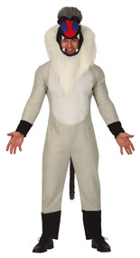 Mens Baboon Fancy Dress Costume