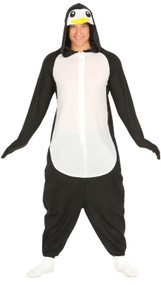 Adults Winter Penguin Fancy Dress Costume