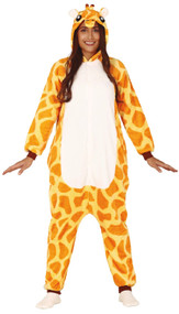Adults Wild Giraffe Fancy Dress Costume
