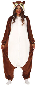 Adults Squirrel Fancy Dress Costume