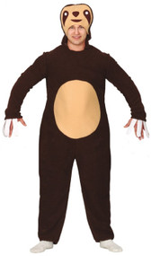 Adults Sloth Fancy Dress Costume