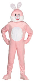 Adults Bunny Mascot Fancy Dress Costume