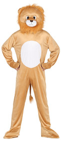 Adults Lion Mascot Fancy Dress Costume