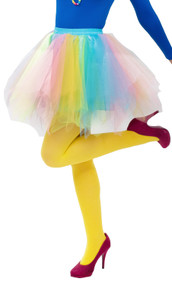 Ladies Pastel Rainbow Tutu Skirt