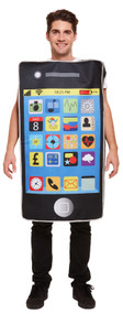 Adults Mobile Phone Fancy Dress Costume