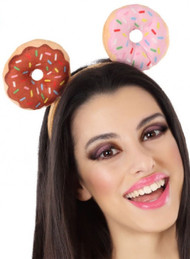 Adults Doughnut Fancy Dress Headband