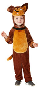Toddler Brown Dog Fancy Dress Costume