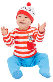Baby Where's Wally Fancy Dress Costume