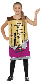 Child's Wonka Bar Fancy Dress Costume
